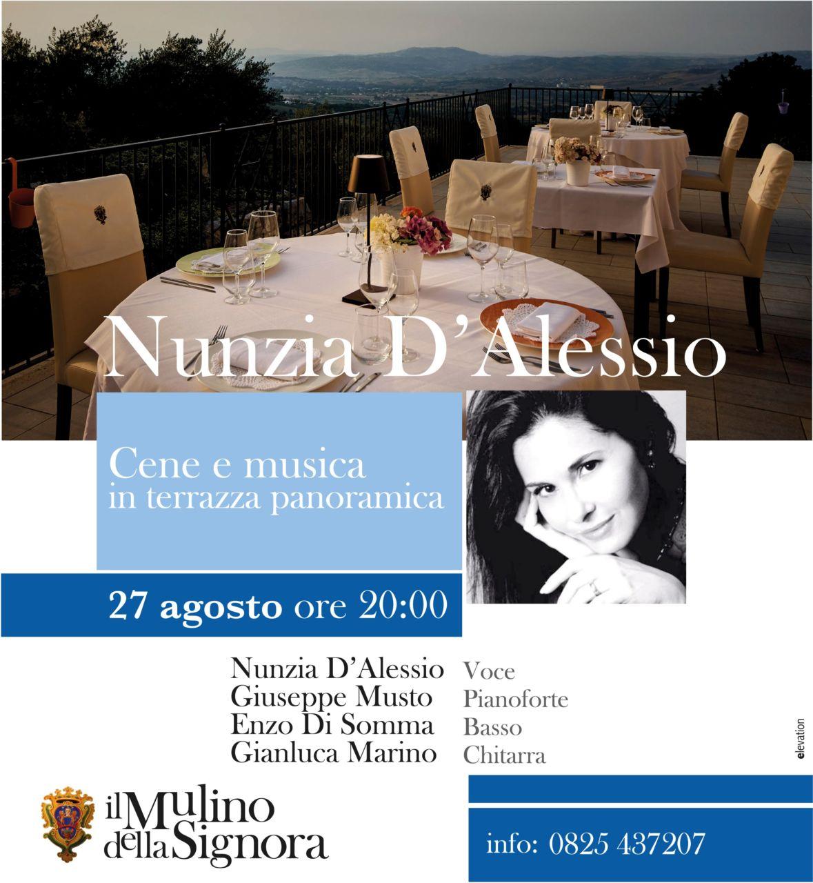 Nunzia D'Alessio in Concerto
